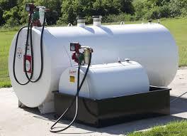 on site fuel tank